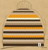 konfigurierte Mütze Alf