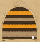 konfigurierte Mütze biene maja
