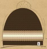 konfigurierte Mütze Cappuchino