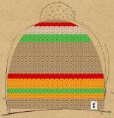 konfigurierte Mütze Caribbean Winter