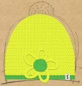 konfigurierte Mütze flor verde