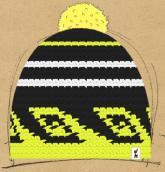 konfigurierte Mütze Gelb?