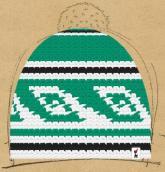 konfigurierte Mütze Green Phantom