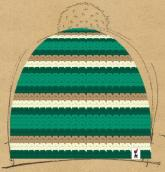 konfigurierte Mütze Gr�n f�r Styler