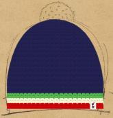 konfigurierte Mütze Italia