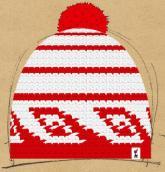 konfigurierte Mütze kroko-style :D
