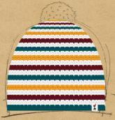 konfigurierte Mütze lolipop