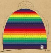 konfigurierte Mütze love,peace&harmony