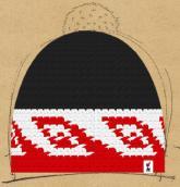 konfigurierte Mütze Maori
