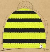 konfigurierte Mütze Modell Biene
