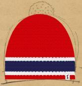 konfigurierte Mütze Norge