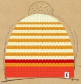 konfigurierte Mütze Orange Charm
