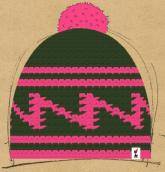 konfigurierte Mütze pink Christmas