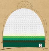 konfigurierte Mütze Pure Green