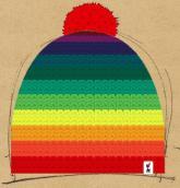 konfigurierte Mütze raduga