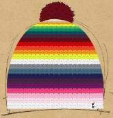 konfigurierte Mütze Rainbow