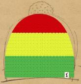 konfigurierte Mütze rasta boy
