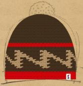 konfigurierte Mütze red_line