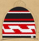 konfigurierte Mütze Red Phantom