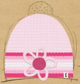 konfigurierte Mütze rosa