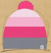 konfigurierte Mütze rosaknoll