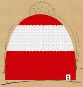konfigurierte Mütze Rot-Wei�-Rot �sterreich