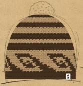 konfigurierte Mütze Saschn