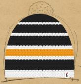 konfigurierte Mütze schneemann