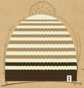 konfigurierte Mütze Vanilla Dream