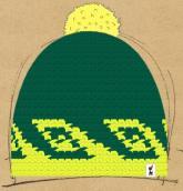 konfigurierte Mütze Wavepunk