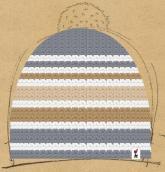 konfigurierte Mütze Winterstrand