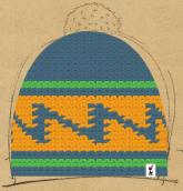 konfigurierte Mütze wintertag