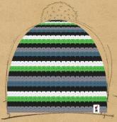 konfigurierte Mütze Zum Pullover